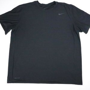 Nike Men's Dri-fit Training Black T-Shirt